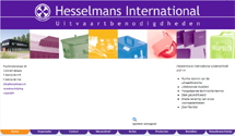 Hesselmans International vernieuwt haar website