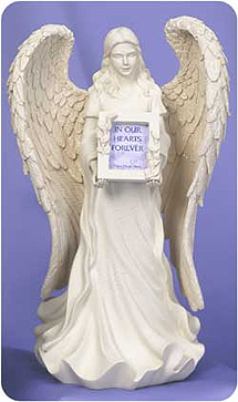 Keepsake /Urn In Angels Hands