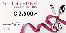 Cheque voor You better Pink